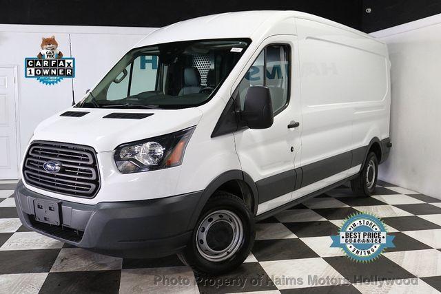 2016 Ford Transit Cargo Van T 250 148 Med Rf 9000 Gvwr Sliding Rh