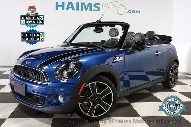 Used Mini Cooper Convertible >> 2014 Used Mini Cooper S Convertible At Haims Motors Hollywood Serving Fort Lauderdale Hollywood Pompano Beach Fl Iid 18826674