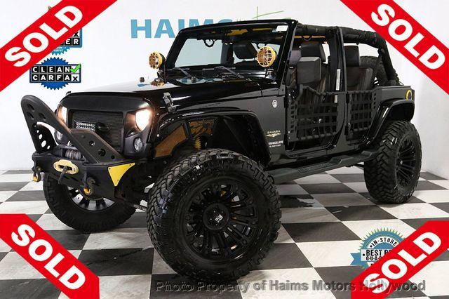 Custom Jeep Wrangler >> 2014 Used Jeep Wrangler Unlimited Custom Jeeps At Haims Motors Serving Fort Lauderdale Hollywood Miami Fl Iid 18909458