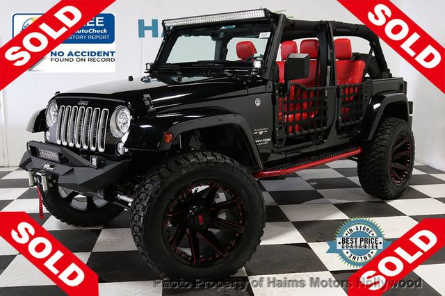 Custom Jeep Wrangler >> 2018 Used Jeep Wrangler Jk Unlimited Custom Jeep At Haims