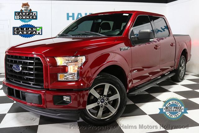2017 Used Ford F-150 XLT 2WD SuperCrew 5 5' Box at Haims Motors Serving  Fort Lauderdale, Hollywood, Miami, FL, IID 19168581