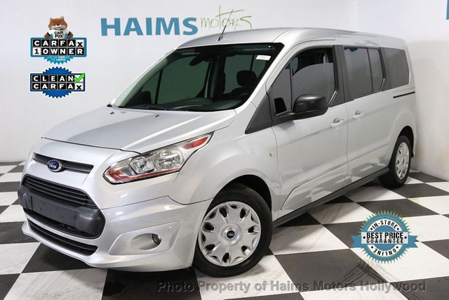 Used Ford Transit Connect >> 2016 Used Ford Transit Connect Wagon 4dr Wagon Lwb Xlt At Haims Motors Serving Fort Lauderdale Hollywood Miami Fl Iid 19241601