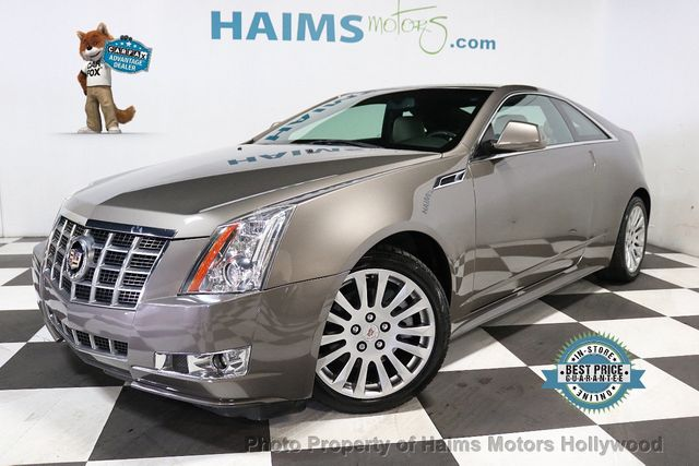 Used Cadillac Cts Coupe >> 2012 Used Cadillac Cts Coupe 2dr Coupe Performance Rwd At Haims Motors Serving Fort Lauderdale Hollywood Miami Fl Iid 19343599