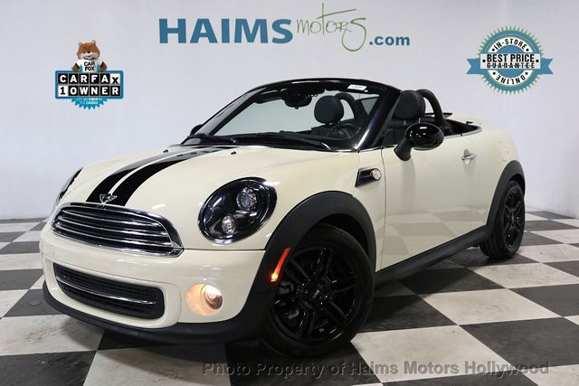 Used Mini Cooper Convertible >> 2015 Used Mini Cooper Roadster At Haims Motors Serving Fort Lauderdale Hollywood Miami Fl Iid 19383557