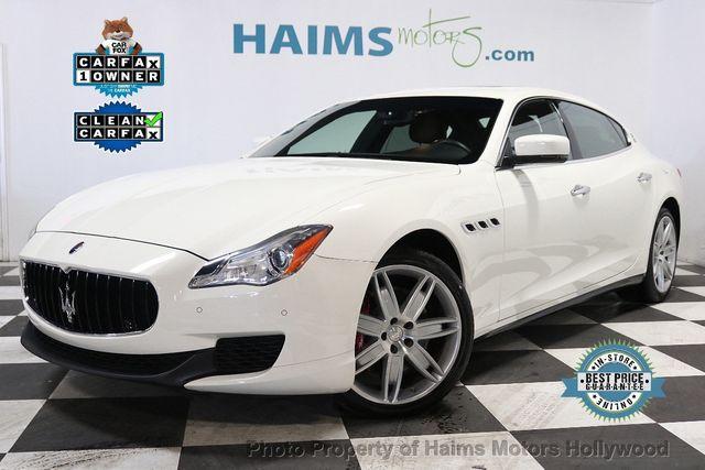 Used Maserati Quattroporte >> 2016 Used Maserati Quattroporte At Haims Motors Serving Fort Lauderdale Hollywood Miami Fl Iid 19495767