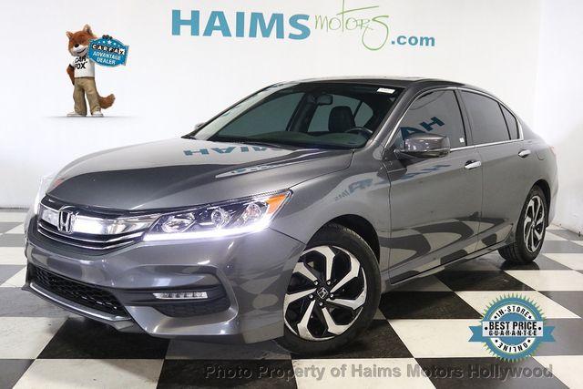 2016 Honda Accord V6 >> 2016 Used Honda Accord Sedan 4dr V6 Automatic Ex L At Haims Motors Serving Fort Lauderdale Hollywood Miami Fl Iid 19608756