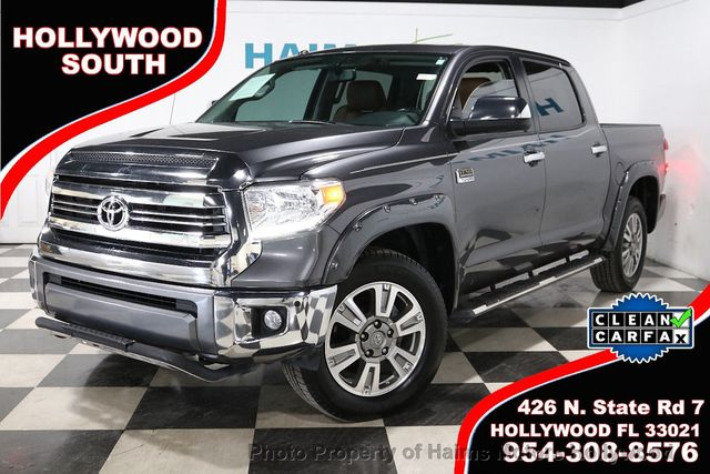 1794 Toyota Tundra >> 2017 Used Toyota Tundra 4wd 1794 Edition Crewmax 5 5 Bed 5 7l At Haims Motors Serving Fort Lauderdale Hollywood Miami Fl Iid 19635497