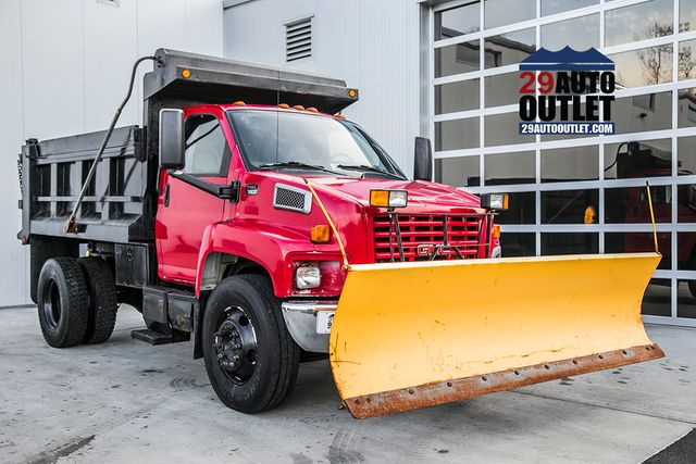 2004 Used GMC C7500 C7500 * C7 CAT DIESEL * PTO DUMP * PLOW at Country  Commercial Center Serving Warrenton, VA, IID 16015097