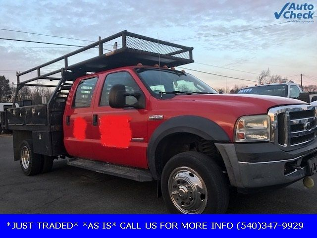 2006 Used Ford Super Duty F 550 Drw F550 Crew Cab 6 0 Powerstroke 10 Concrete Body W Racks At Country Commercial Center Serving Warrenton Va