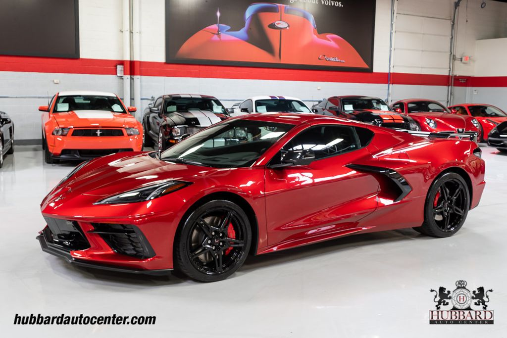 2021 Red Chevrolet Corvette Stingray 2LT   C7 Corvette Photo 4