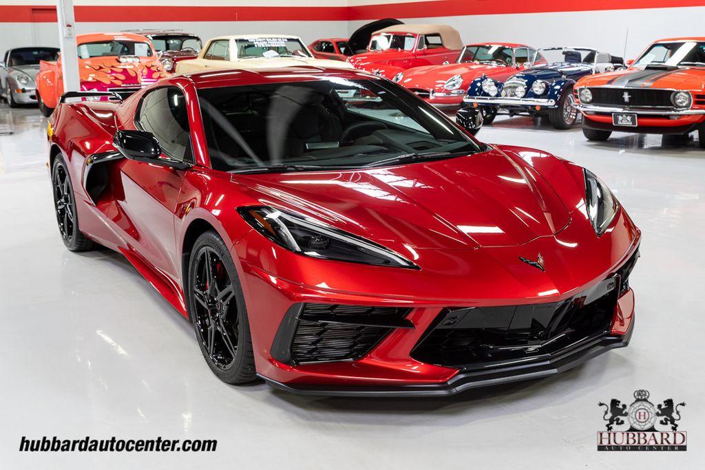 2021 Red Chevrolet Corvette Stingray 2LT   C7 Corvette Photo 9
