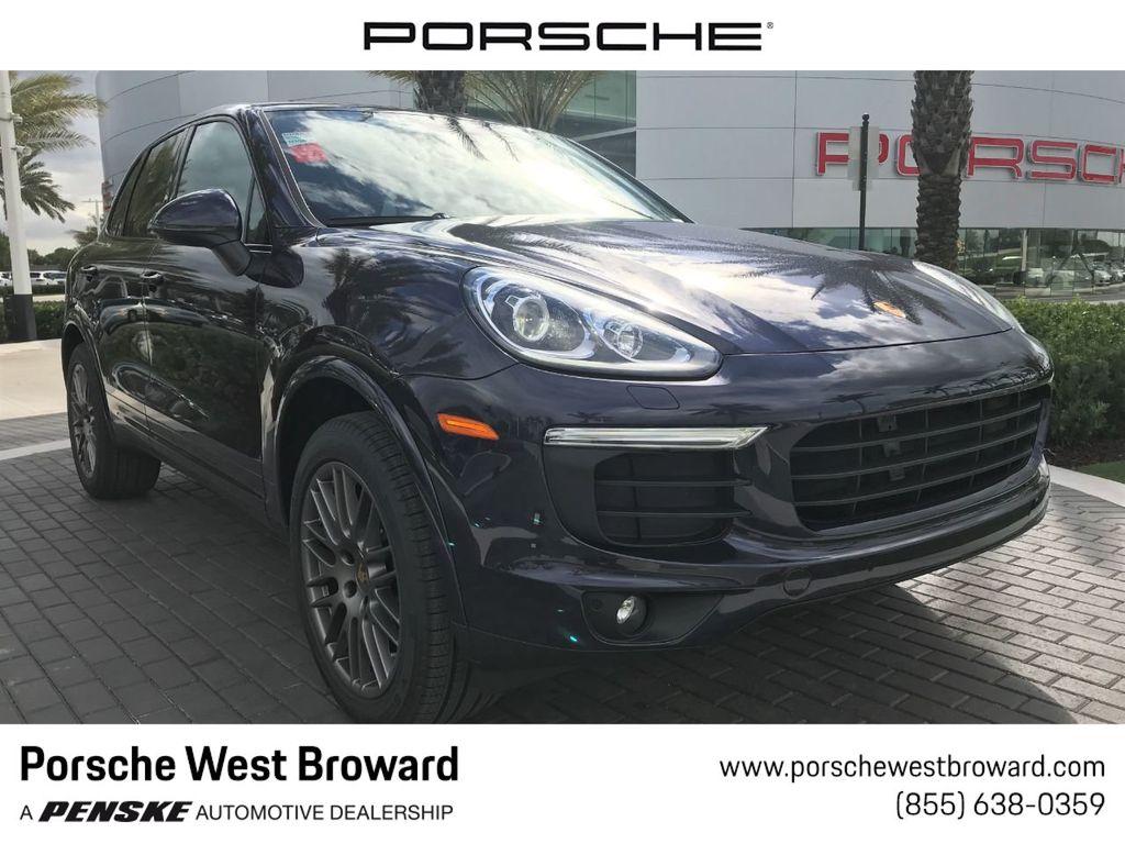Pre-Owned 2018 Porsche Cayenne