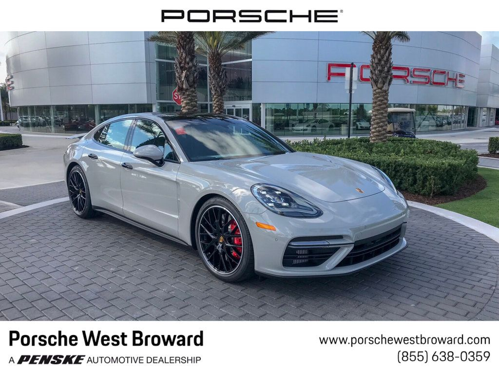 New 2019 Porsche Panamera Turbo AWD