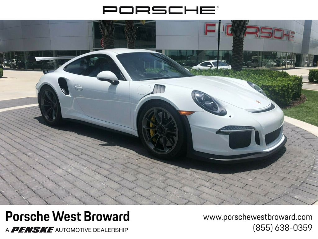 Pre Owned 2016 Porsche 911 2dr Coupe Gt3 Rs Rear Wheel Drive Coupe