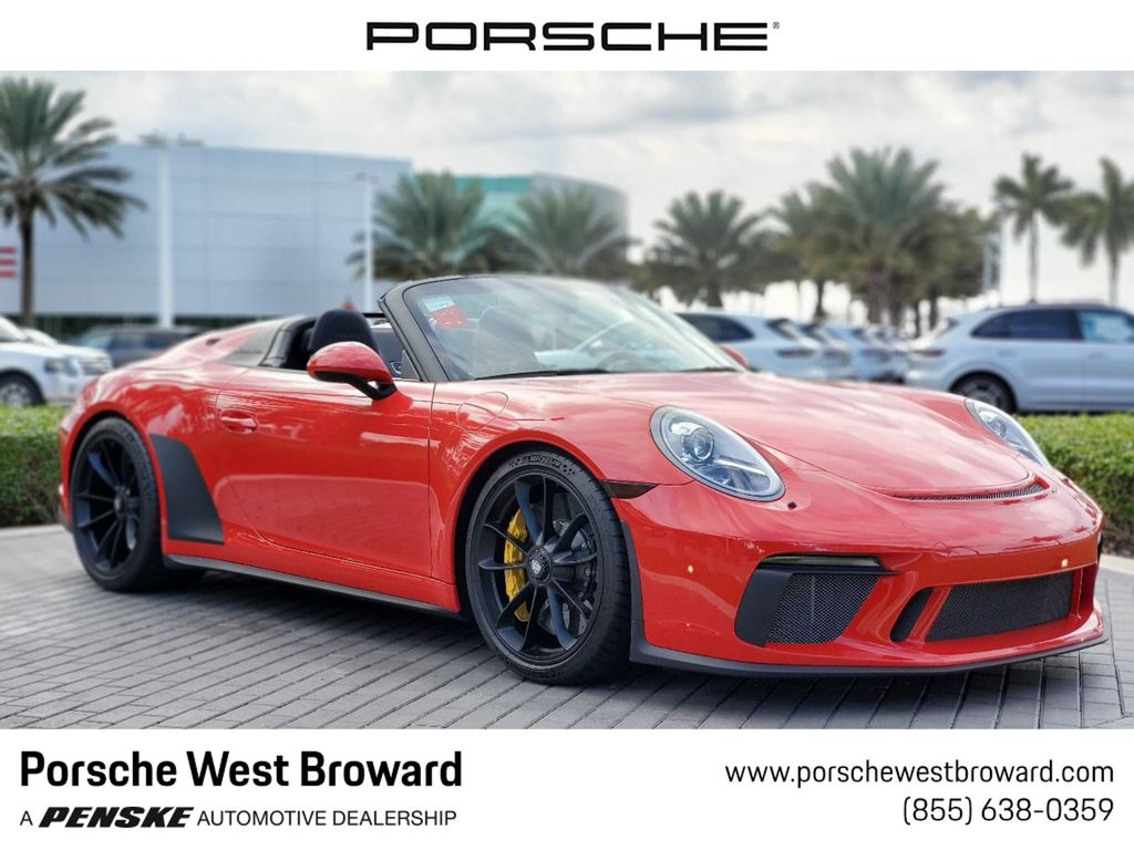 Pre-Owned 2019 Porsche 911 Speedster Cabriolet