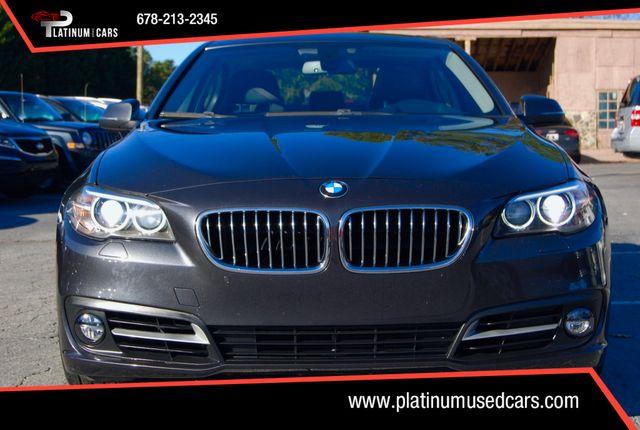 2015 Used BMW 5 Series 535i at Platinum Used Cars Serving Alpharetta, GA,  IID 18382150