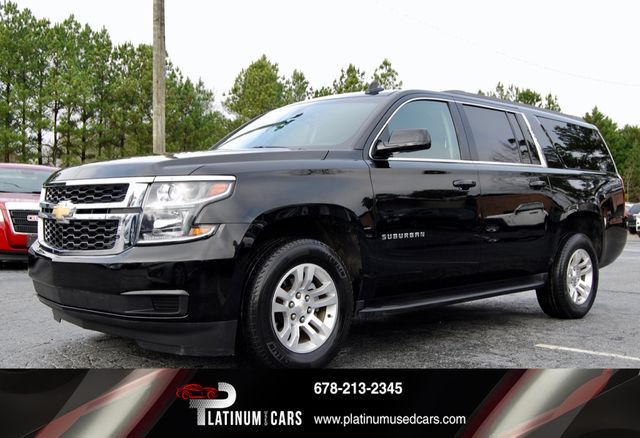 Chevy Used Cars >> 2017 Used Chevrolet Suburban 2wd 4dr 1500 Lt At Platinum Used Cars Serving Roswell Alpharetta And Cumming Ga Iid 18958115