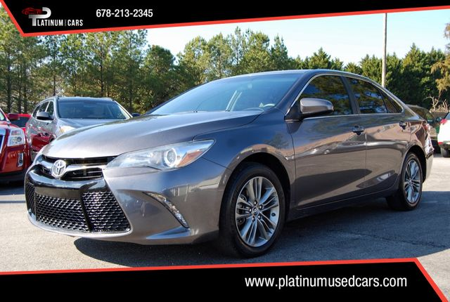 Platinum Used Cars >> 2017 Used Toyota Camry Se Automatic At Platinum Used Cars Serving Alpharetta Ga Iid 18958127