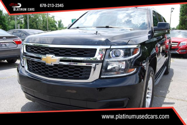 Platinum Used Cars >> 2016 Used Chevrolet Suburban 4wd 4dr 1500 Lt At Platinum Used Cars Serving Alpharetta Ga Iid 19063899