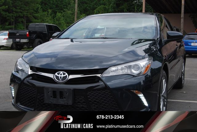 Platinum Used Cars >> 2017 Used Toyota Camry Se Automatic At Platinum Used Cars Serving Alpharetta Ga Iid 19063908