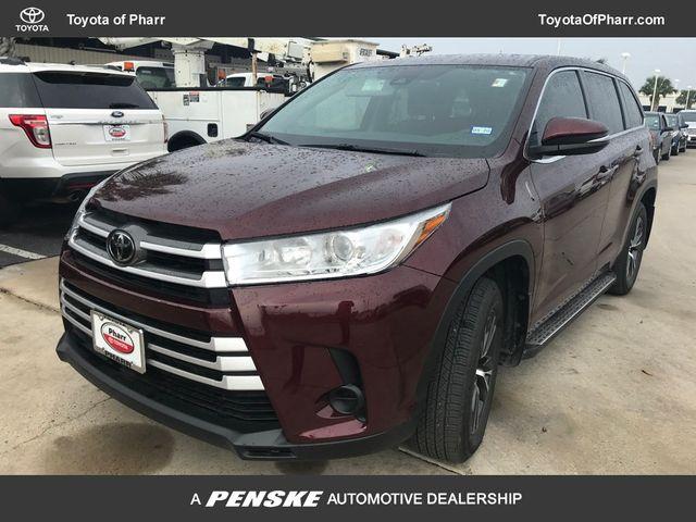 Pre-Owned 2018 Toyota Highlander LE I4 FWD