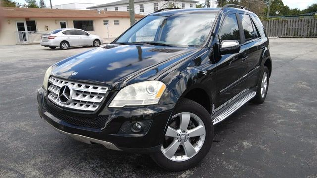 2009 Used Mercedes-Benz M-Class ML350 4MATIC 4dr 3 5L at A Luxury Autos  Serving Miramar, FL, IID 16299778