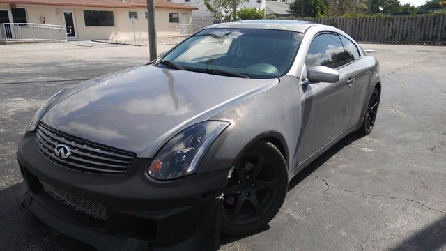 2003 Used INFINITI G35 Coupe 2dr Coupe Manual w/Leather at A