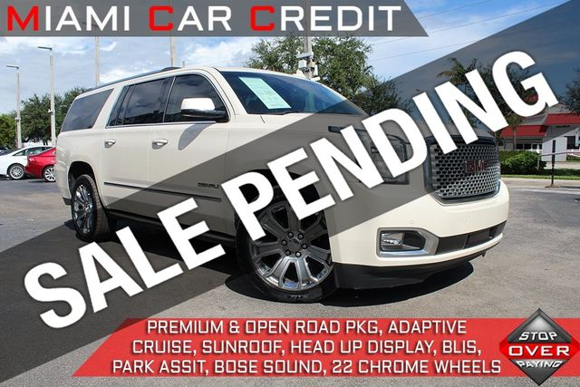 Used Gmc Yukon Xl >> 2015 Used Gmc Yukon Xl Denali At Miami Car Credit Llc Serving Miami Dade And Broward Fl Iid 19504885