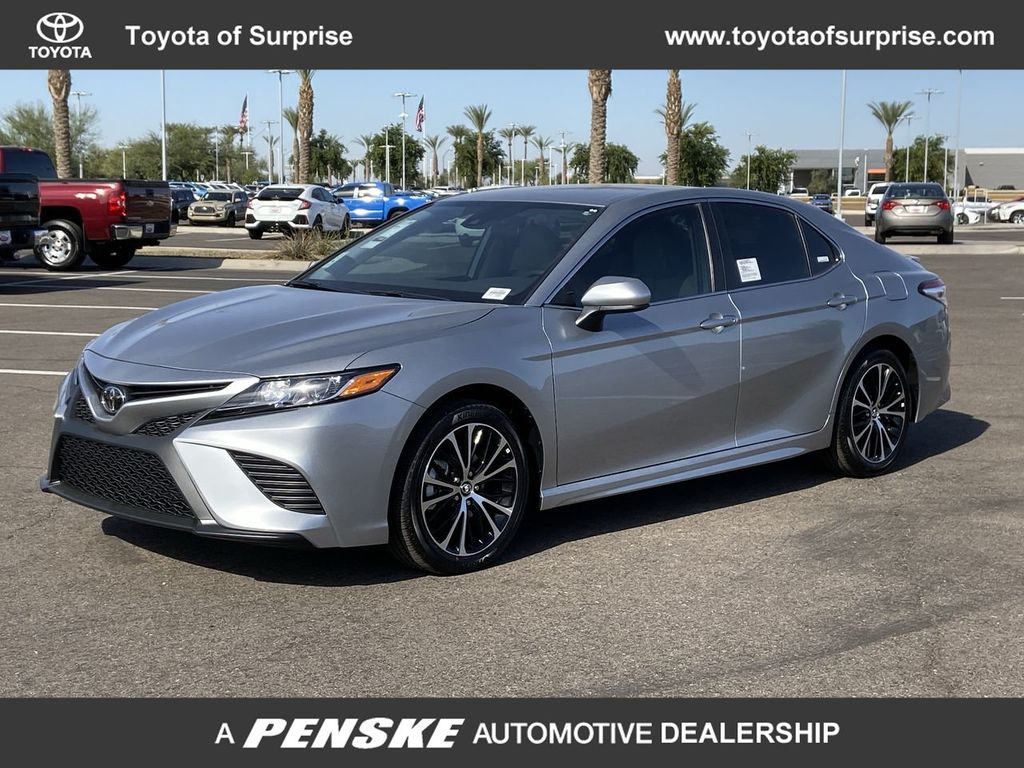 Toyota Of Surprise >> New 2020 Toyota Camry Se Automatic Front Wheel Drive Sedan