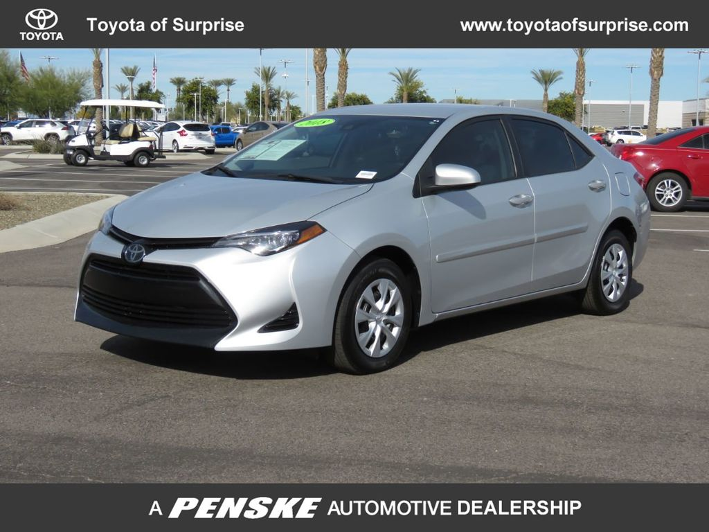 Toyota Of Surprise >> Pre Owned 2018 Toyota Corolla L Cvt Front Wheel Drive Sedan
