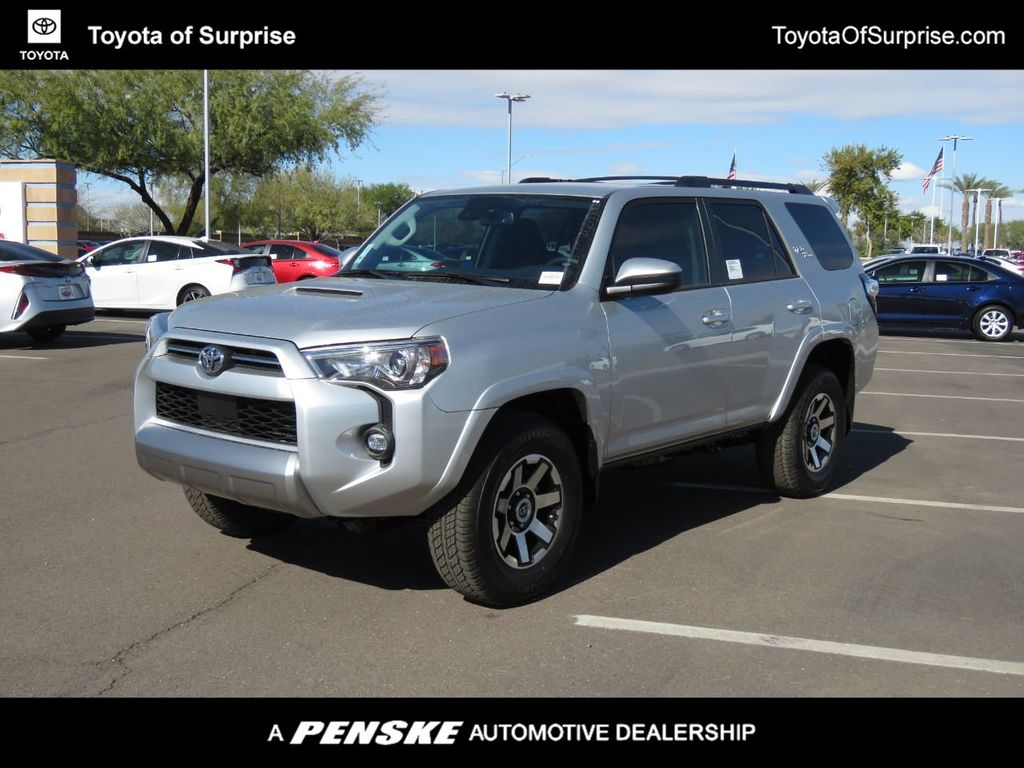 New 2021 Toyota 4runner Trd Off Road 4wd Suv In Phoenix T09378 Penske Automall