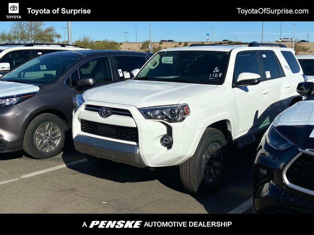 New 2021 Toyota 4runner Trd Off Road Premium 4wd Suv In Phoenix T09455 Penske Automall
