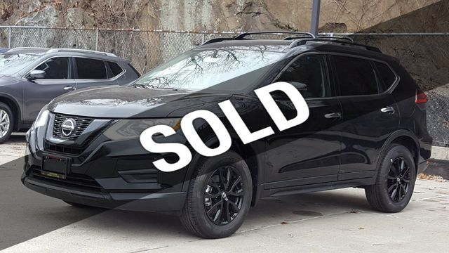 2018 Used Nissan Rogue SV AWD Midnight at Saw Mill Auto Serving Yonkers,  Bronx, New Rochelle, NY, IID 18043456