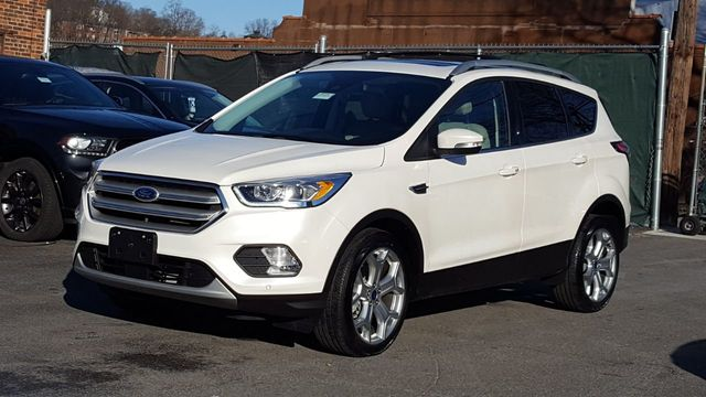 Ford Escape Titanium >> 2018 Used Ford Escape Titanium 4wd W Panoramic Roof At Saw Mill Auto