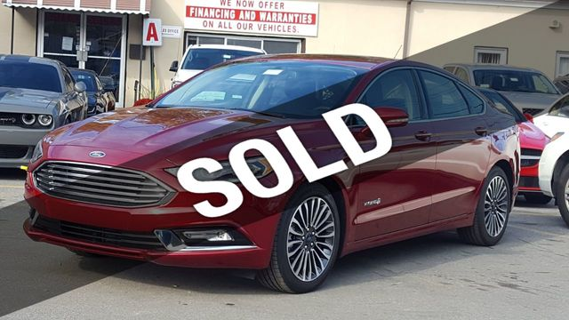 Used Ford Fusion Hybrid >> 2018 Used Ford Fusion Hybrid Titanium Fwd At Saw Mill Auto Serving Yonkers Bronx New Rochelle Ny Iid 18237827