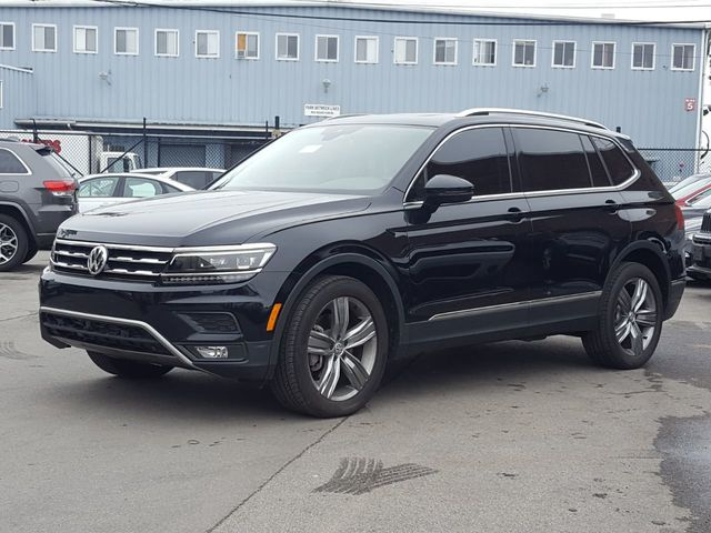 2018 Used Volkswagen Tiguan (Recovered Theft) 2 0T SEL Premium FWD  w/Panoramic Roof at Saw Mill Auto Serving Yonkers, Bronx, New Rochelle, NY,  IID