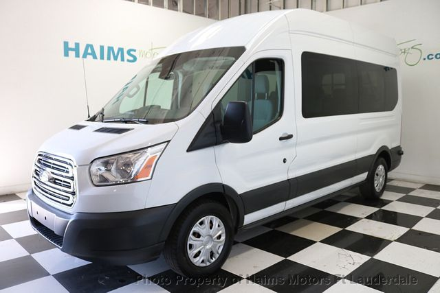 Ford Transit Wagon >> 2016 Used Ford Transit Wagon T 350 148 High Roof Xl Sliding Rh Dr At Haims Motors Serving Fort Lauderdale Hollywood Miami Fl Iid 18661506