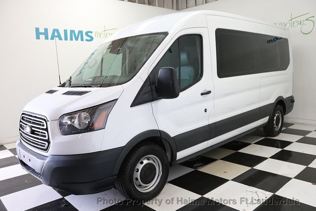 Ford Transit Wagon >> 2016 Used Ford Transit Wagon T 150 130 Med Roof Xl Sliding Rh Dr At Haims Motors Serving Fort Lauderdale Hollywood Miami Fl Iid 18837917