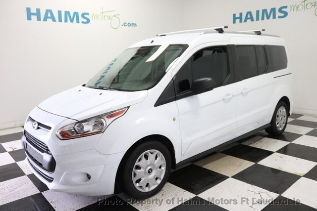 2016 Ford Transit >> 2016 Used Ford Transit Connect Wagon 4dr Wagon Lwb Xlt W Rear Liftgate At Haims Motors Serving Fort Lauderdale Hollywood Miami Fl Iid 19202706