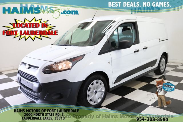 Used Ford Transit Connect >> 2017 Used Ford Transit Connect Van Xl Lwb W Rear Symmetrical Doors At Haims Motors Serving Fort Lauderdale Hollywood Miami Fl Iid 19335782