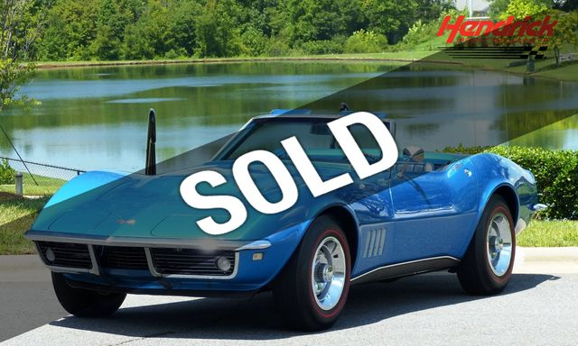 1968 Used Chevrolet Corvette Ultra Rare L89 Corvette With 435 Thundering Horsepower At Hendrick Performance Serving Charlotte Nc Iid 17961691