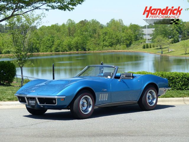 1969 Corvette Stingray >> 1969 Used Chevrolet Corvette Just Restored Lemans Blue Stingray 427 435 With 30k Miles At Hendrick Performance Serving Charlotte Nc Iid 18908509