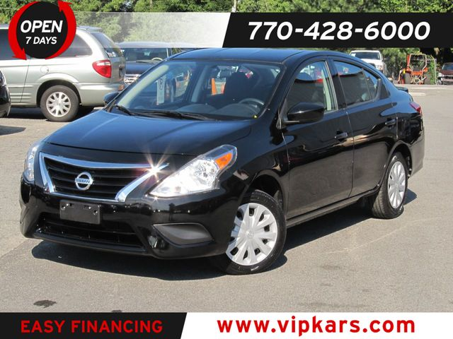 2018 Used Nissan Versa Sedan S Plus CVT at VIP Kars Serving Marietta and  Atlanta, GA, IID 19225574