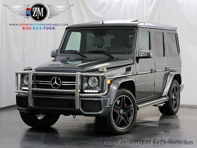 2013 Used Mercedes-Benz 4MATIC 4dr G63 AMG at Zone Motors Serving Addison,  IL, IID 18199554