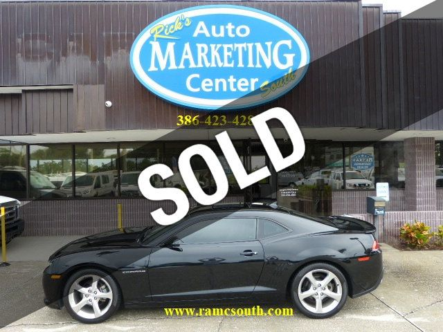 New Smyrna Chevrolet >> 2014 Used Chevrolet Camaro 2dr Coupe Lt W 2lt Rs Package Navigation Sun Roof Just Traded In At Rick S Auto Marketing Center South Serving New Smyrna