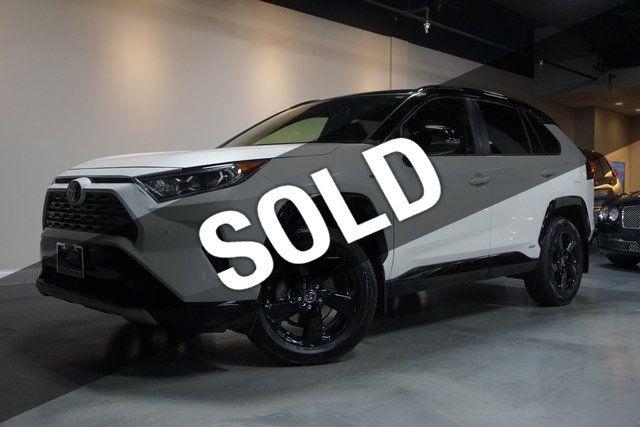 2019 Toyota Rav4 Hybrid Xse Awd Ebay