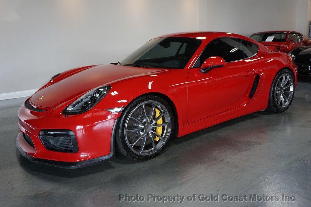 thumbnail 3 - 2016 Porsche Cayman *Carmine Red* *PCCB* *Sport Chrono Pkg*