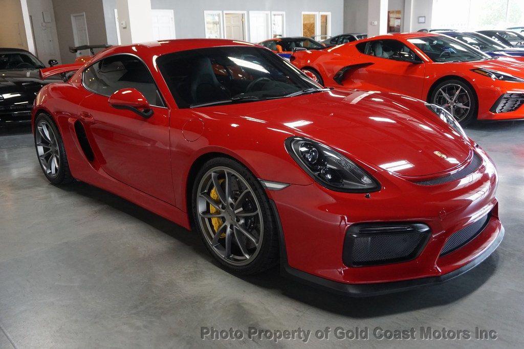 thumbnail 4 - 2016 Porsche Cayman *Carmine Red* *PCCB* *Sport Chrono Pkg*