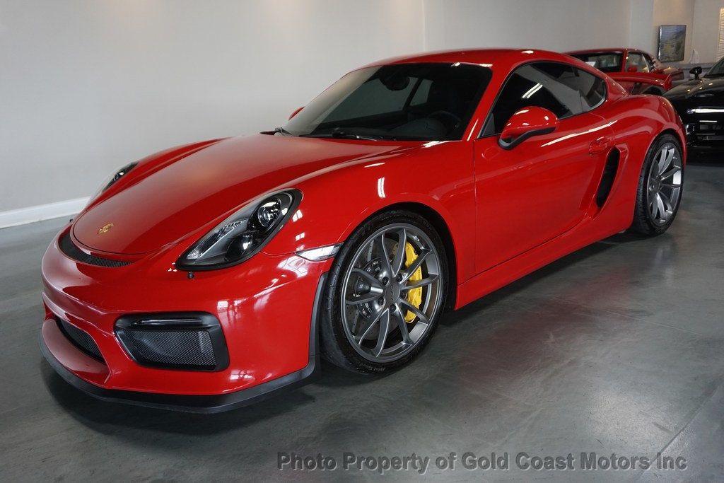 thumbnail 5 - 2016 Porsche Cayman *Carmine Red* *PCCB* *Sport Chrono Pkg*