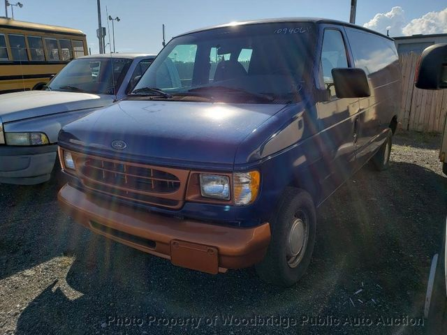 2000 Used Ford E-150 ECONOLINE E150 at Woodbridge Public Auto Auction, VA,  IID 15981159